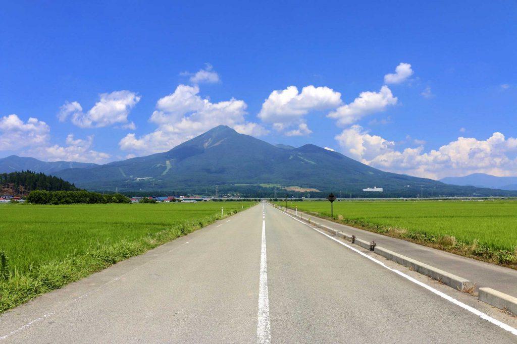 夏の磐梯山
